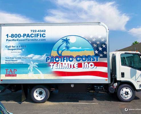 Box Truck Wraps in Orange County CA