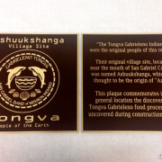 Bronze Plaque Dedication Sign Tongva Caliber Signs and Imaging