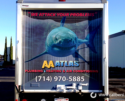 Car Graphics High Quality Print AA Atlas Caliber Signs and Imaging