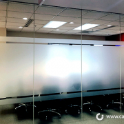 Conference Room Etched Frosted Windows Caliber Signs and Imaging 1