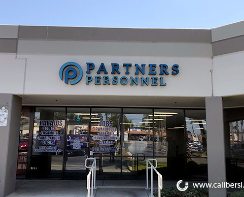 Corporate Image Illuminated Sign Partners Personnel Santa Ana CA Caliber Signs and Imaging