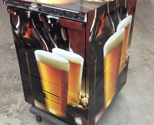 Custom Wrap Fridge Graphics Caliber Signs and Imaging