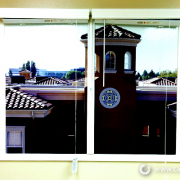 Fake Window Graphic Irvine Company Caliber Signs and Imaging