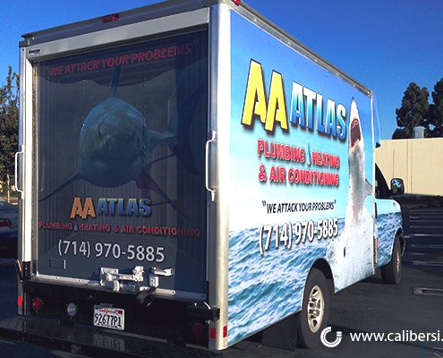 Fleet Graphics AA Atlas Caliber Signs and Imaging