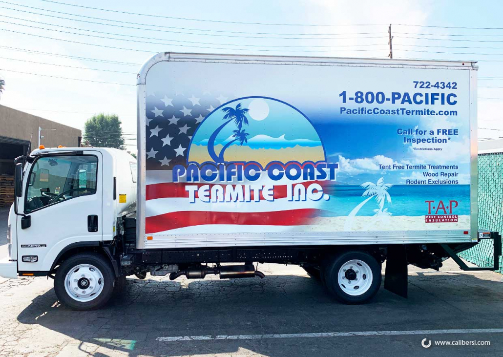 Fleet Wraps in Orange County CA