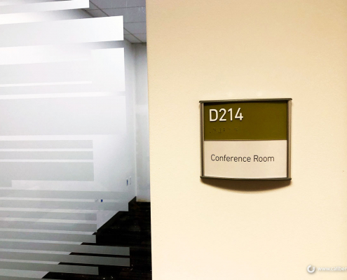 Reception Sign Directional Sign Caliber Signs and Imaging