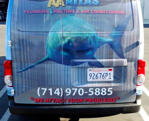 Vehicle Graphics High Quality Print AA Atlas Caliber Signs and Imaging