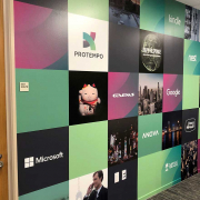 Wall Mural Full Color Print Protempo Caliber Signs and Imaging 1