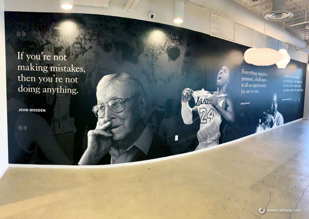 Wall Murals with Inspirational Quotes in Orange County CA