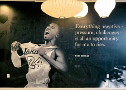 Wall Murals with Motivational Quotes in Irvine CA