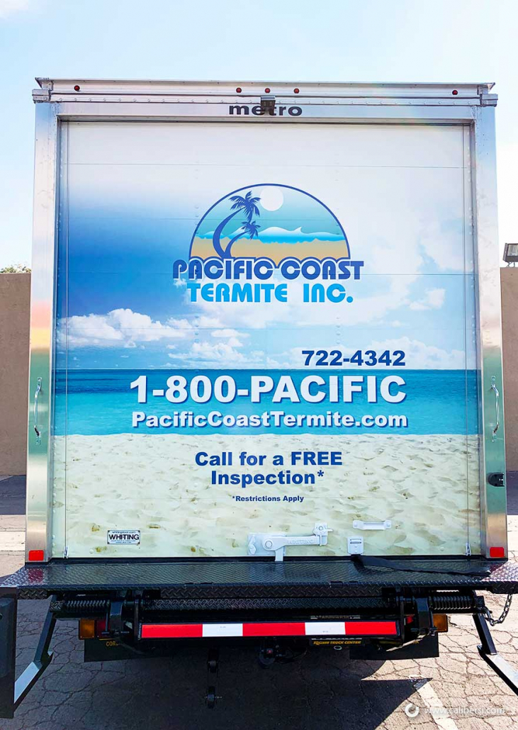 Box truck graphics and wraps in Orange County CA