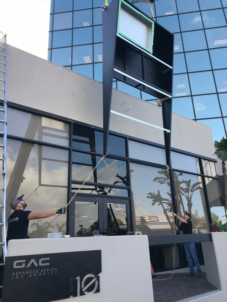 Building Sign Installation in Costa Mesa CA