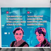 Women Empowerment Wall Graphics Irvine CA