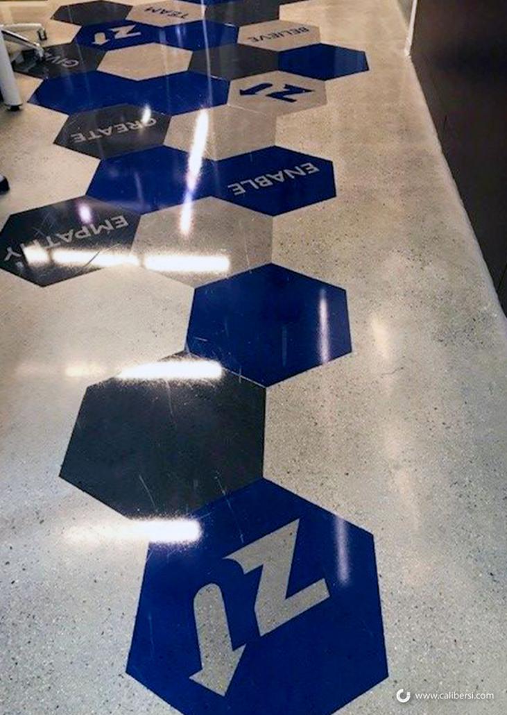 Vinyl Floor Graphics in Irvine CA