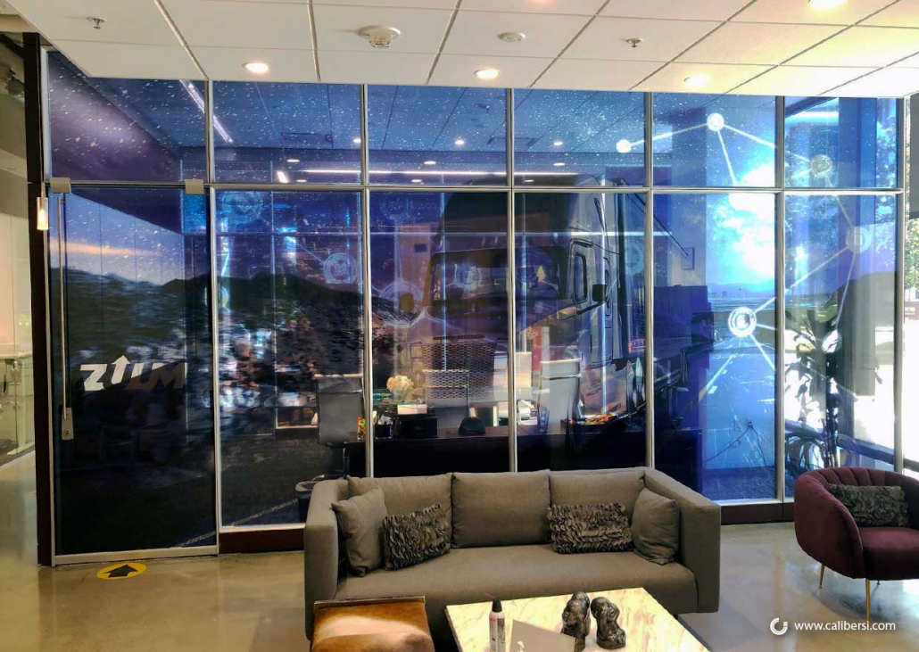 Vinyl Glass Graphics for Conference Rooms in Irvine CA