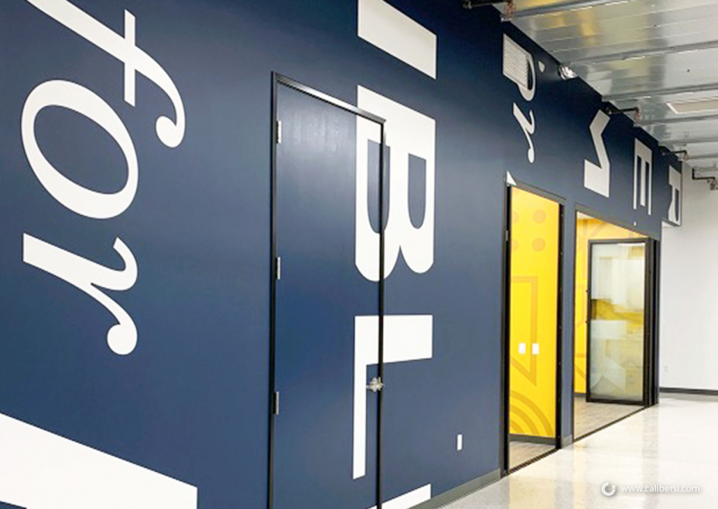 Brand Centric Wall Graphics in Anaheim CA