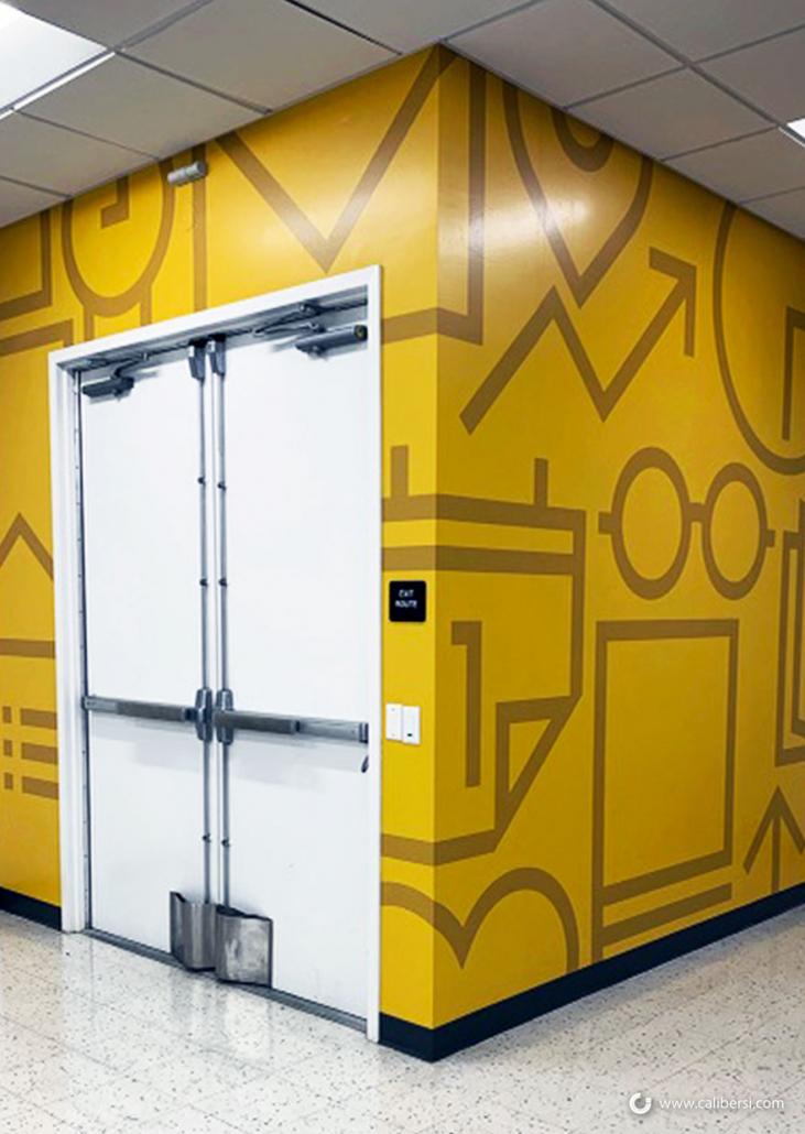 Corporate Branding with Wall Graphics in Anaheim CA