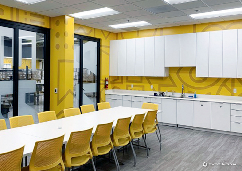 Corporate Wall Graphics for Breakrooms in Anaheim CA