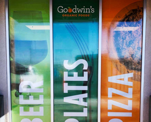 Retail Storefront Window Graphics in Orange County CA
