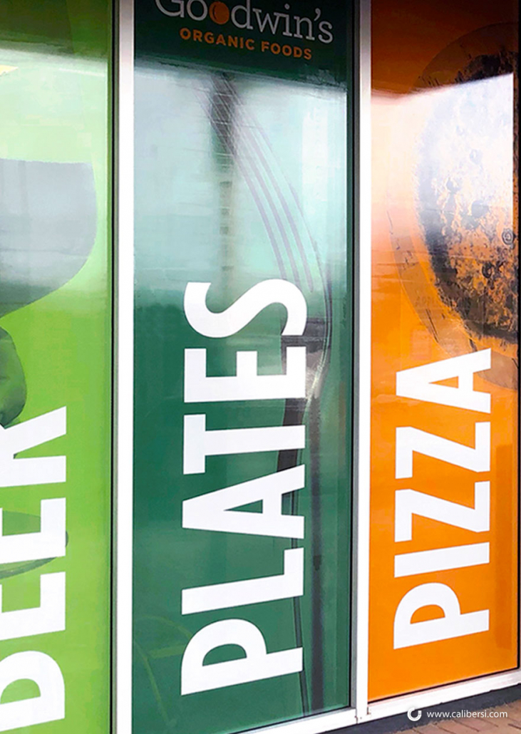 Window Graphics for Retail Stores in Orange County CA