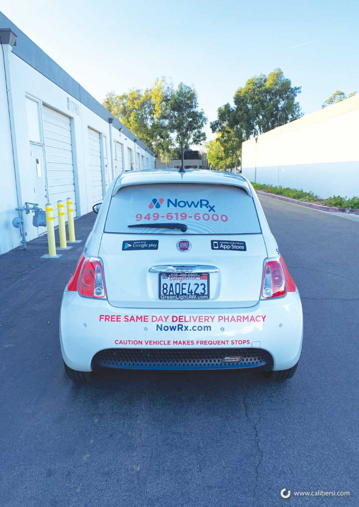 A small amount of vehicle graphics can lead to effective mobile marketing in Irvine CA