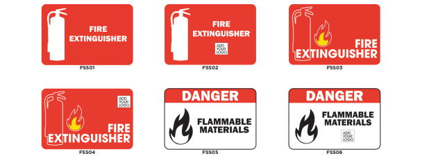 Fire Extinguisher Signs in Orange County CA