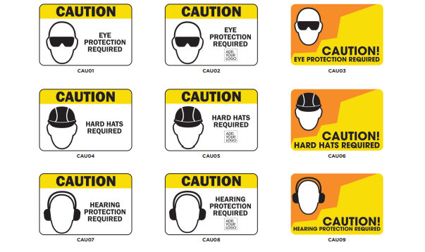 Workplace Caution Signs in Orange County CA