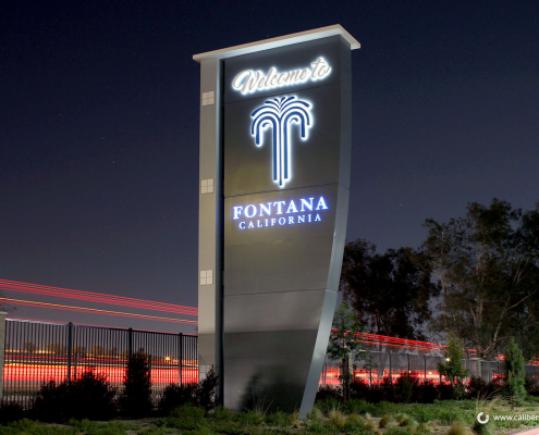 Giant Monument Signs in Fontana CA