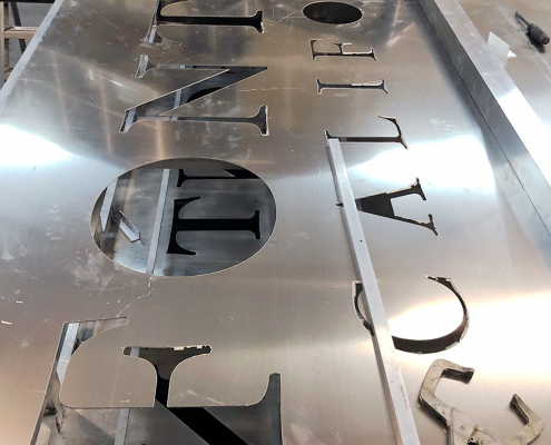 Monument Sign Fabrication in Orange County CA