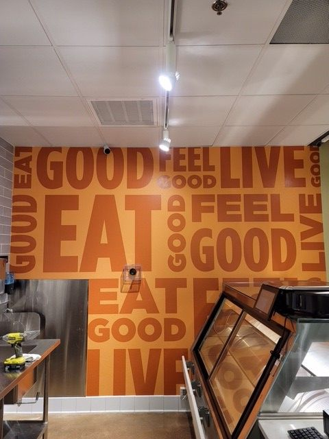 Wall Murals to Promote Healthy Eating in Orange County CA