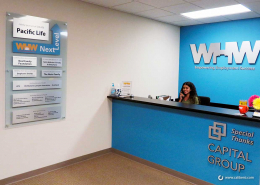 Sponsorship wall signs in Orange County CA