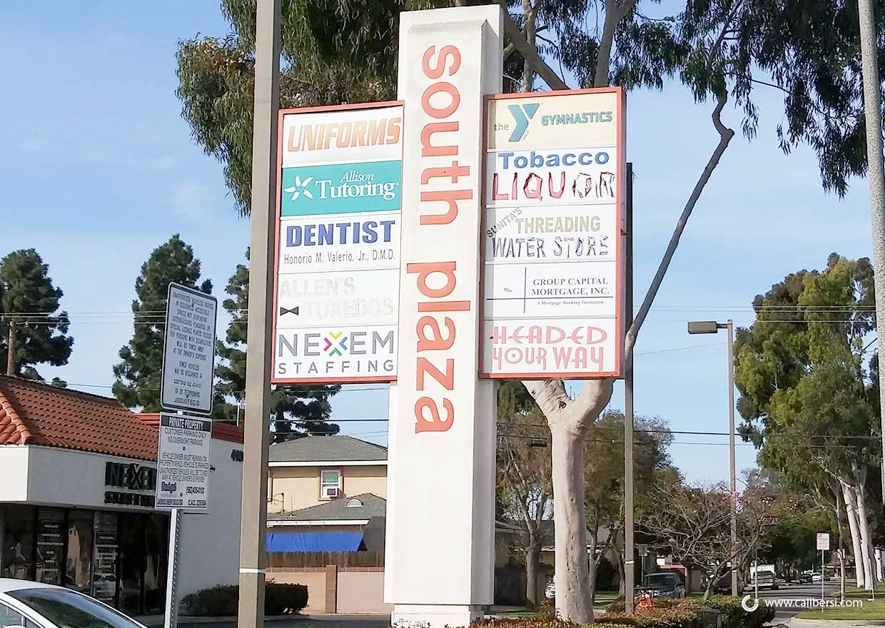 Can My Monument Sign be Refurbished in Lakewood CA