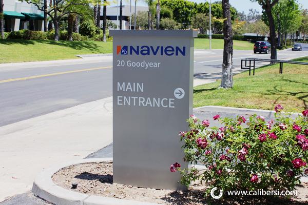 Exterior Wayfinding Signs in Irvine CA