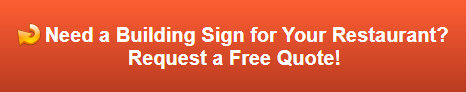 Free quote on restaurant building signs