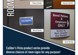 Vista Systems Signs for Rooms in Orange County CA