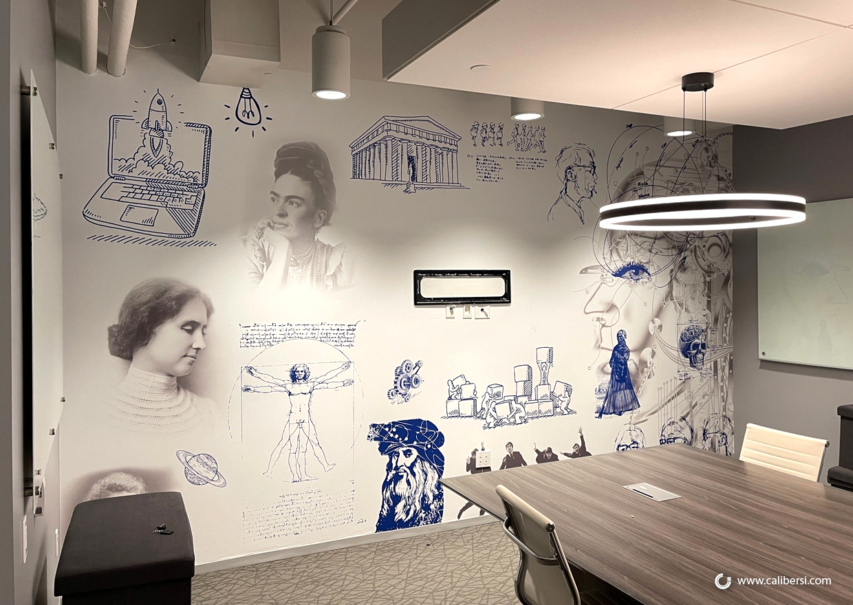 Make the Workspace Fun with Office Wall Murals in Orange County CA