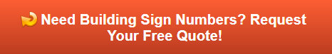Free Quote on Building Sign Numbers
