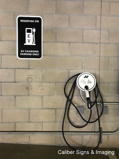 EV Charging Station Signs in Irvine CA