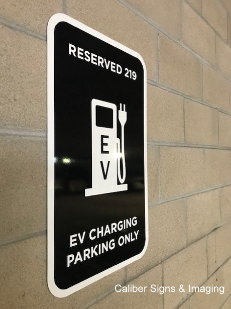 EV Charging Station Signs in Orange County CA