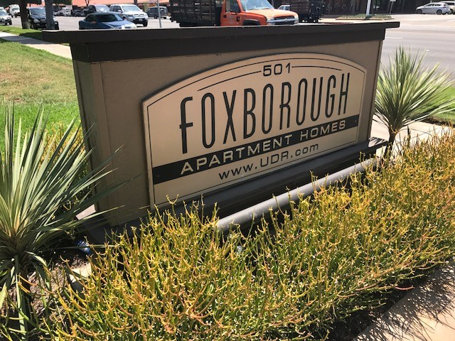 Monument sign refresh in Orange County CA