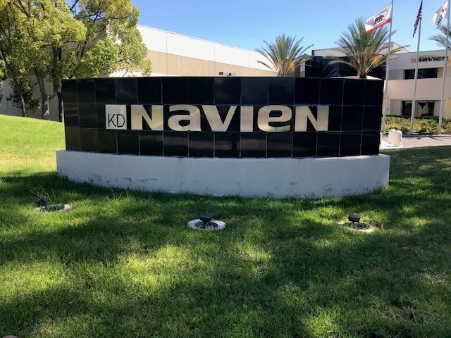 Old Monument Sign for Navien