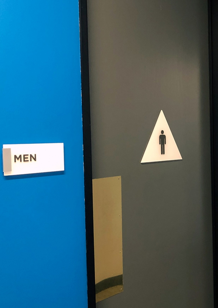 Property Management Restroom Signs in Orange County CA