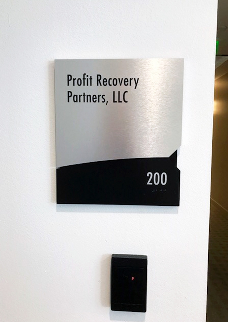 Tenant Suite Signs for Property Managers
